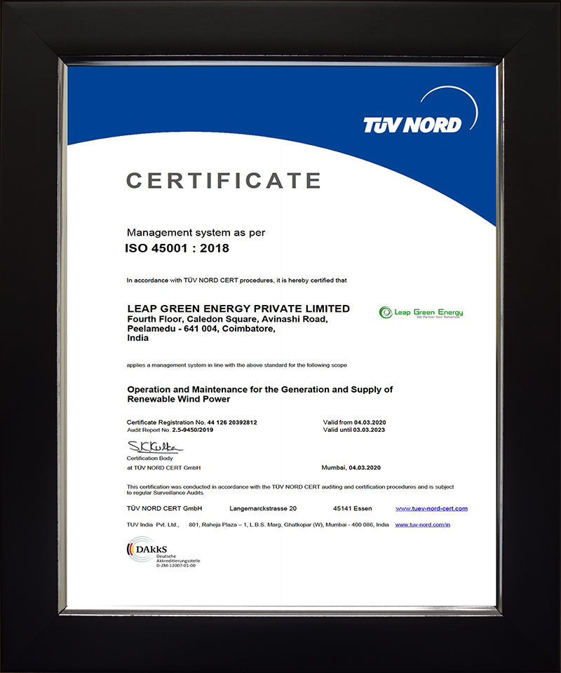 certificates address